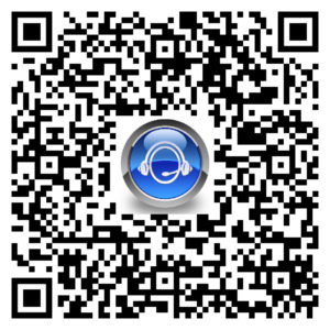 Helper Translator QR Code to download from Google Play Store
