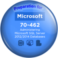 SQL 70-462 Administering Microsoft SQL Server 2012/2014 Databases Preparation
