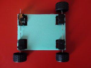 προσαρμογή μοτέρ στο φελιζόλ - ιδιοκατασκευή τηλεκατευθυνόμενο αυτοκινητάκι
