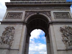 Η Αψίδα του Θριάμβου στο Παρίσι