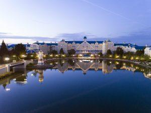 Το ξενοδοχείο μας ήταν το Disney's Newport Bay Club®